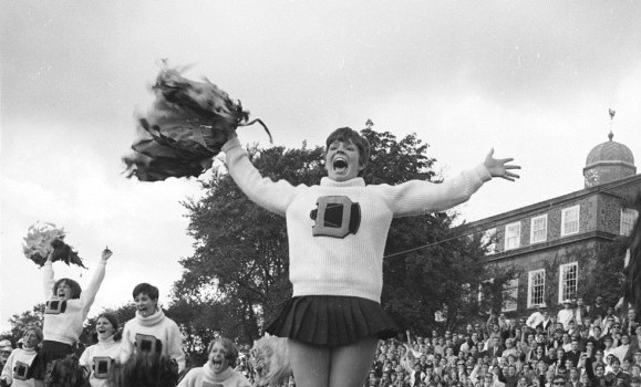 Dalhousie Cheerleading Antique Running