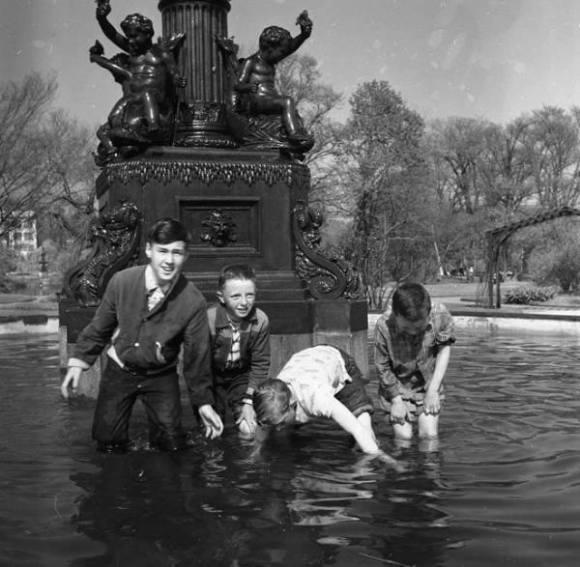 Halifax Public Gardens, 1956