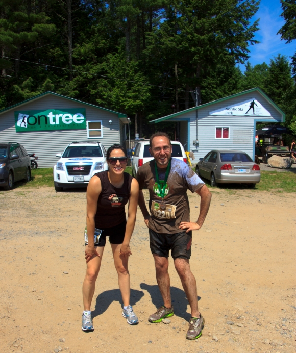 Mud Hero Halifax Before and After