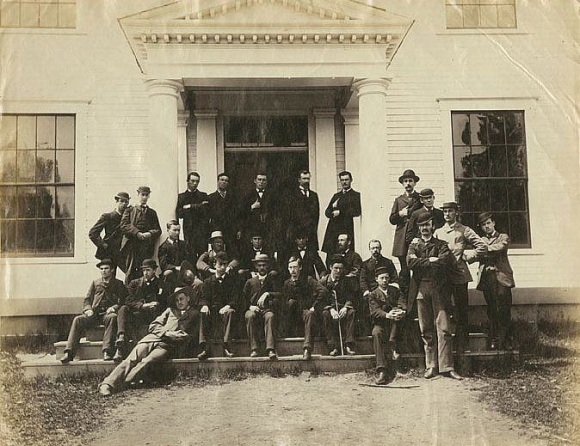 1883 Academy Students, Mount A