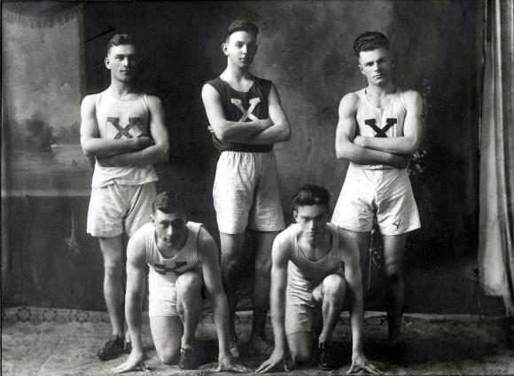 St. Francis Xavier Running Team ca 1930