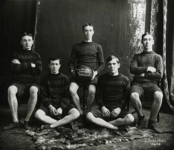 Dalhousie Basketball Champions, 1906/'07
