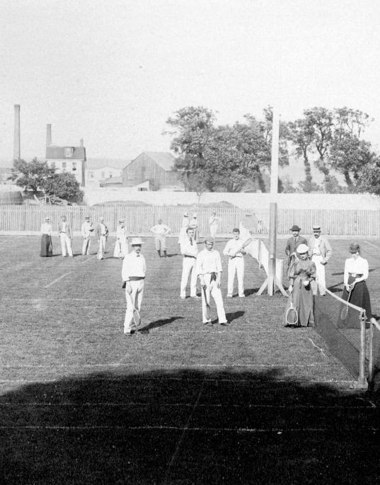 South End Lawn Tennis Club, Halifax, ca. 1900