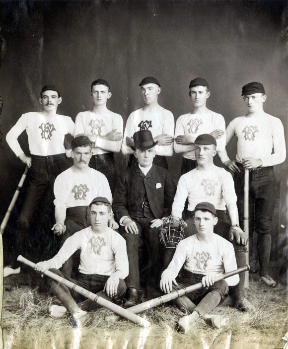 Wanderer's Amateur Athletic Group, Baseball Team ca 1900s