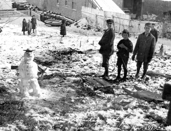 Live it. Own it. How these kids did winter in Guysborough, 1912