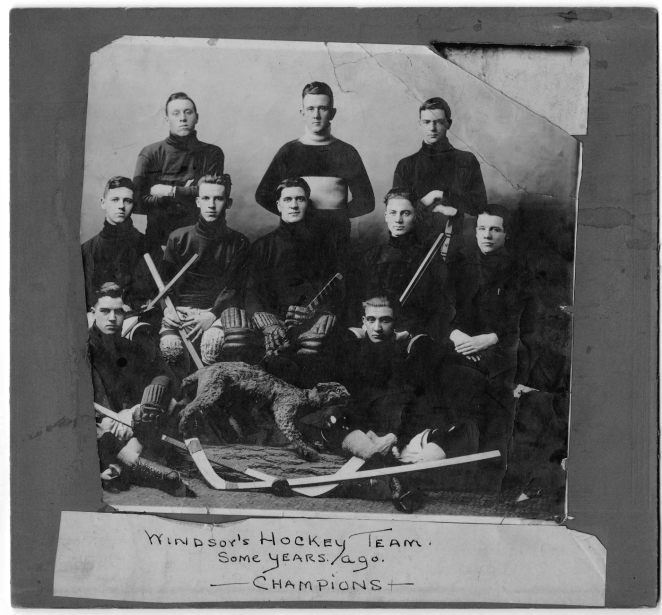 "Mantra of the Windsor Hockey Team in 1920: ""Our spirit animal is a jungle cat"" #crushingit"